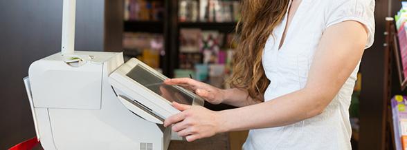 caisses enregistreuses rennes tactiles commerces systeme encaissement code barre traditionnelles